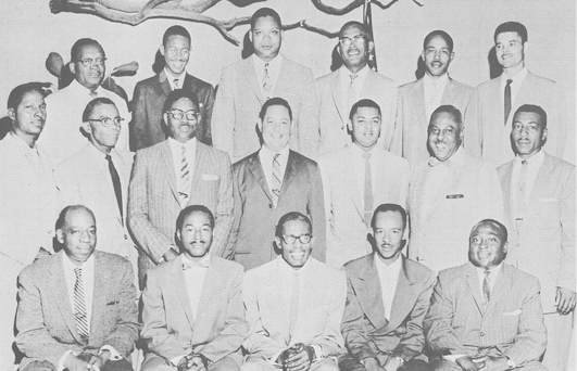 Alpha Nu Sigma Chapter - circa 1958