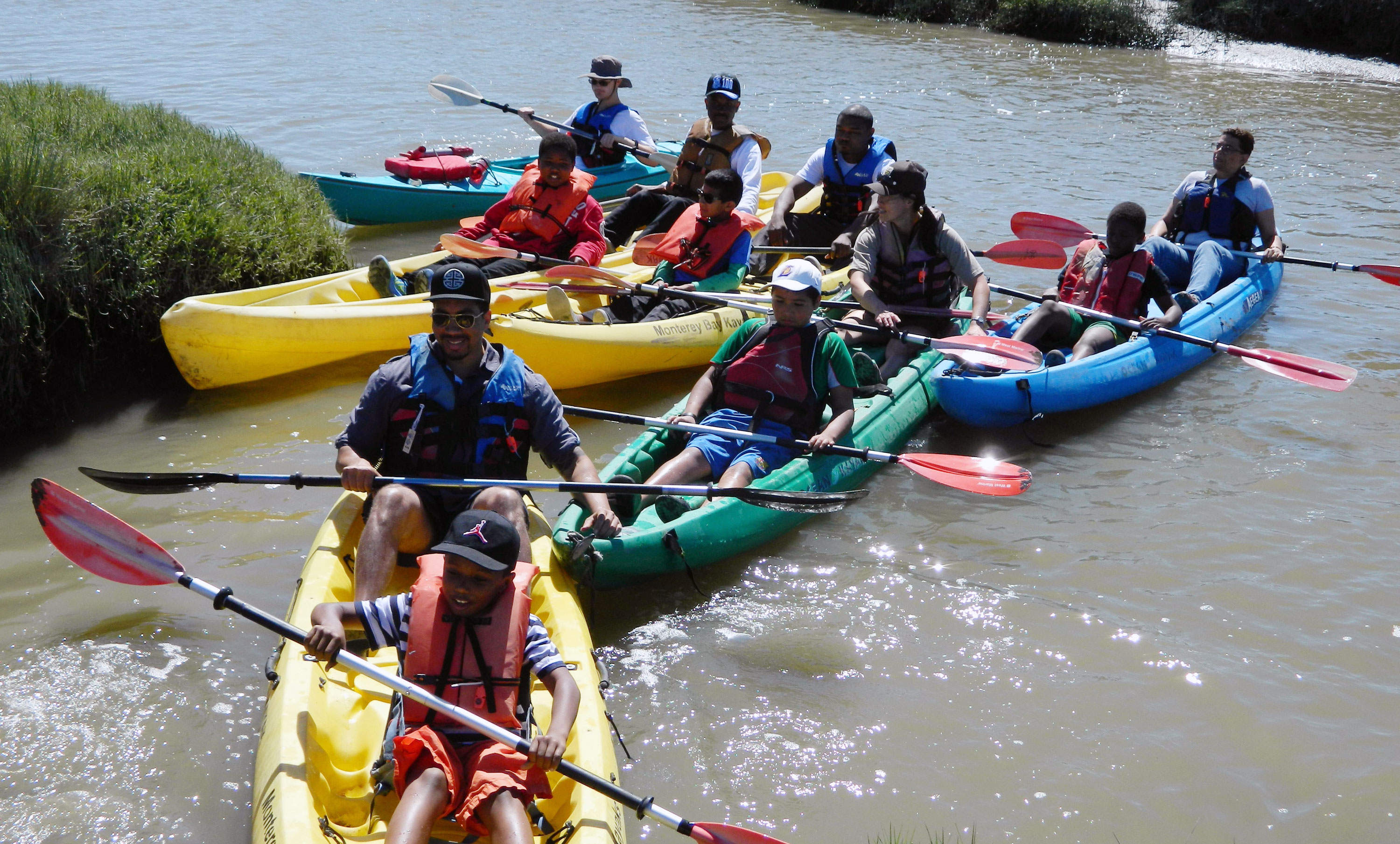 Kayaking trip with the U.S. Fish & Wildlife Service